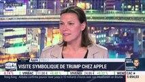 Les coulisses du biz: visite symbolique de Donald Trump chez Apple - 20/11