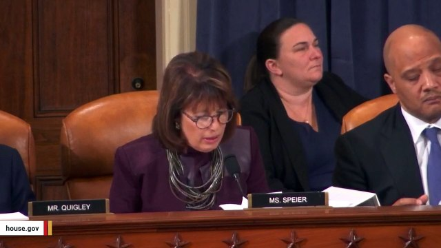 Jackie Speier's Comment About Trump's 'Five Pinocchios' Draws Applause At Hearing