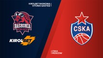 KIROLBET Baskonia Vitoria-Gasteiz - CSKA Moscow Highlights | Turkish Airlines EuroLeague, RS Round 9