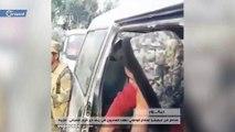 """عنصر في ميليشيا أسد يُهدد أهالي منطقة """"الجزيرة"""" بديرالزور بالقتل"""