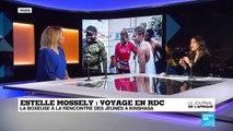 Estelle Mossely en RD Congo : à la rencontre des jeunes de Kinshasa