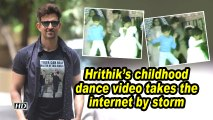 Hrithik's childhood dance video takes the internet by storm