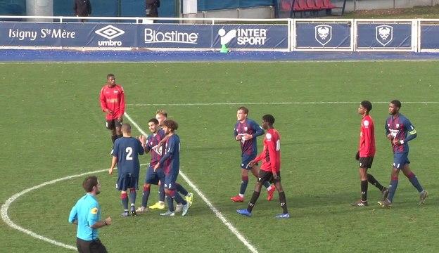 U19 Nationaux : Les buts Caennais lors de SMCaen 5-1 Evreux FC