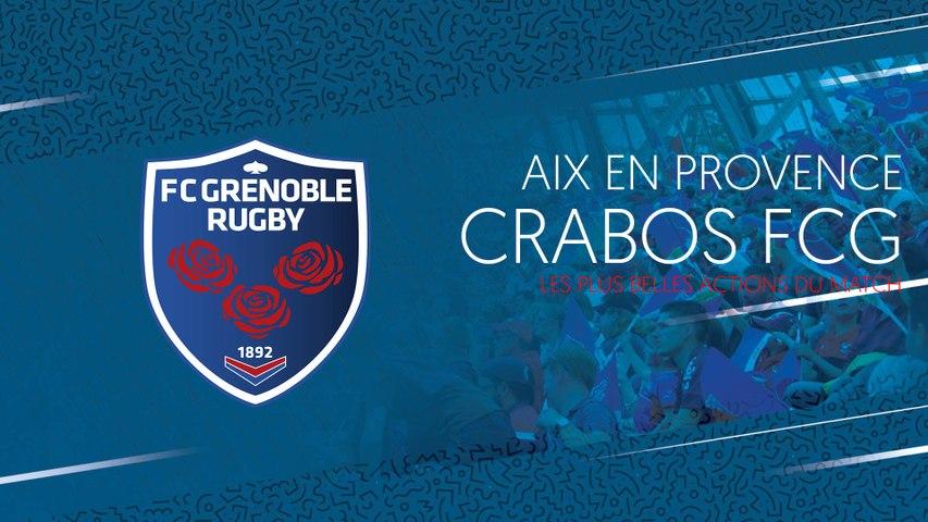 Video - Aix en Provence - Crabos FCG : les plus belles actions du match - madeinrugby.com