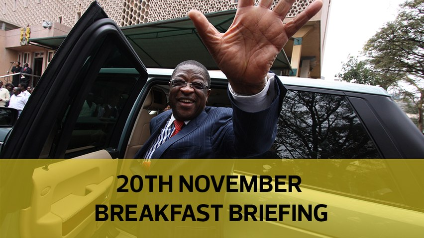 How US cornered Wako | How I met Jowie - driver | Form 1 transition headache: Your Breakfast Briefing