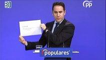 PP y Ciudadanos piden responsabilidades a Sánchez y su dimisión