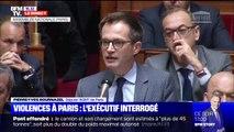 """Violences à Paris: """"Comment comptez-vous mettre hors d'état de nuire ces individus radicalisés ?"""" interpelle le député M. Bournazel"""