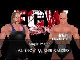 ECW Barely Legal Mod Matches Al Snow vs Chris Candido