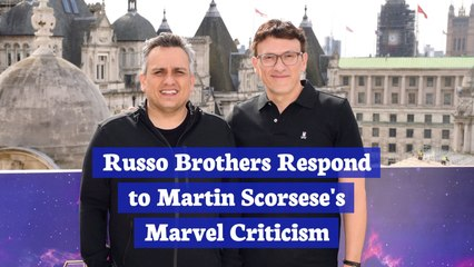 The Russo Brothers And Martin Scorsese