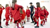 Mo Salah quizzed by Liverpool women U9s _ Fortnite dance moves, FIFA 20 ratings and Scouse