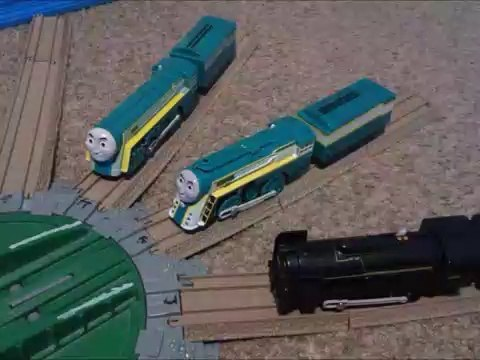 Plarail Connor and Plarail C61 2 4-6-4 Locomotives Unboxing Review and Run