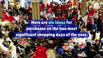 6 Unexpected Buys on Black Friday and Cyber Monday