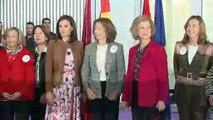 La Reina Letizia y Doña Sofía, visitan el Rastrillo Nuevo Futuro