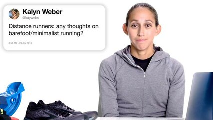 Marathon Champion Answers Running Questions From Twitter