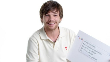 Louis Tomlinson Answers the Web's Most Searched Questions