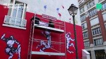 """Le """"Banksy du Yémen"""" dénonce l'hypocrisie de la France"""