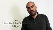 Léo, 25 ans, infirmier depuis trois ans à La Chartreuse, l'hôpital psychiatrique de Dijon