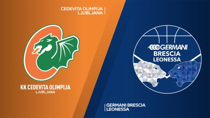 7Days EuroCup Highlights Regular Season, Round 8: Olimpija 73-62 Brescia