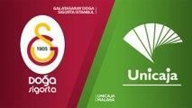 Galatasaray Doga Sigorta Istanbul - Unicaja Malaga Highlights | 7DAYS EuroCup, RS Round 8