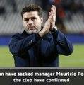 Tottenham sack Mauricio Pochettino