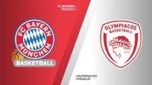 FC Bayern Munich - Olympiacos Piraeus Highlights   Turkish Airlines EuroLeague, RS Round 9