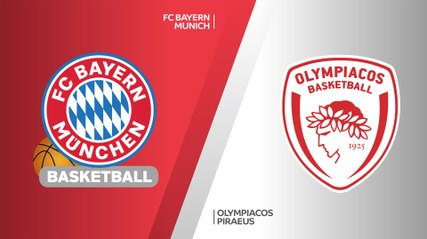 EuroLeague 2019-20 Highlights Regular Season Round 9 video: Bayern 85-82 Olympiacos