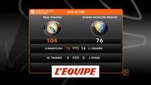 Le Real Madrid facile contre le Khimki - Basket - Euroligue (H)