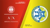 AX Armani Exchange Milan - Maccabi FOX Tel Aviv  Highlights  EuroLeague, RS Round 9