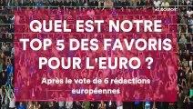 L'Europe a voté, voici son top 5 des favoris pour l'Euro 2020