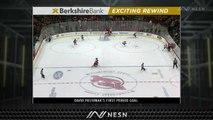 David Pastrnak Notches NHL-Best 18th Goal As Bruins Extend Lead Vs. Devils