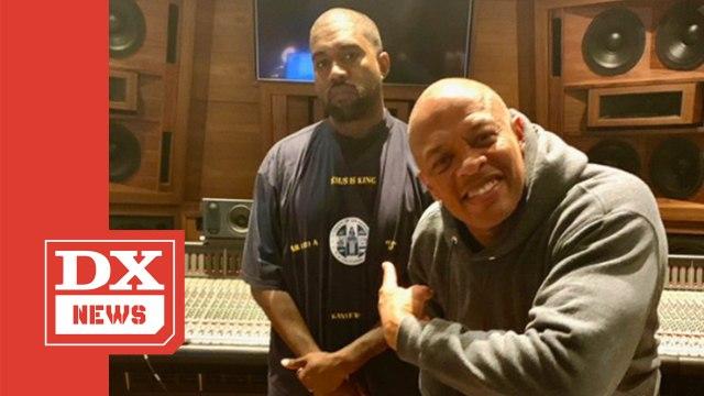 Kanye West Grabs Dr. Dre For 'Jesus Is King' Sequel