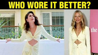 Kareena Kapoor COPIES Iron Man Movie STAR Gwyneth Paltrow's Dress | Good Newwz Trailer Launch