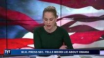 Trump White House Tells BIZARRE Lie About Obama Aides
