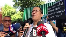 Aquino to Filipinos: Stand up now before you are stifled like De Lima