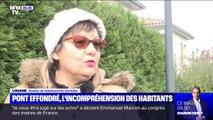 Pont effondré: les habitants de Mirepoix-sur-Tarn font part de leur incompréhension