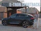 A bord de l'Audi e-tron Sportback (2019)
