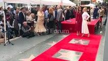 """""""Frozen 2"""" actresses Kristen Bell, Idina Menzel get Hollywood stars"""