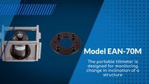Model EAN-70M Portable Tiltmeter by Encardio