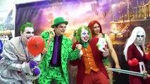 JOKER vs COMIC CON! BATMAN, HARLEY QUINN - The Sean Ward Show