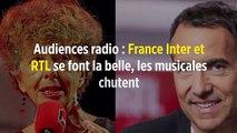 Audiences radio : France Inter et RTL se font la belle, les musicales chutent