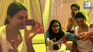 Sushmita Sen Gets A Big Surprise From Boyfriend Rohman Shawl   Birthday