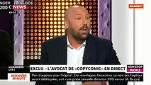 "EXCLU - L'avocat de CopyComic dans ""Morandini Live"" - VIDEO"
