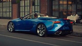 VÍDEO: Lexus LC 500 Convertible 2020, así luce la variante descapotable