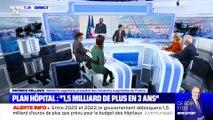 "Plan hôpital: ""1,5 milliard de plus en 3 ans"" - 20/11"