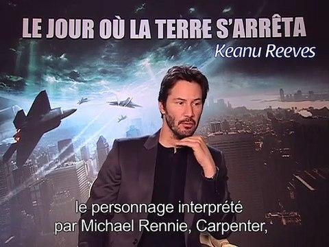 Le Jour où la Terre s'arrêta : Jennifer Connelly et Keanu Reeves racontent leurs expériences