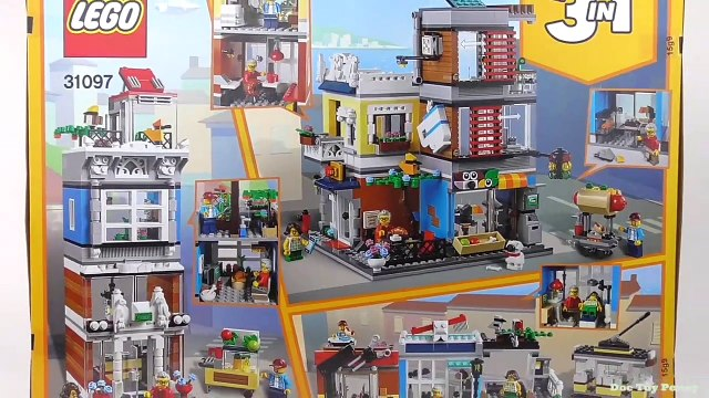 LEGO Creator Market Street (31097) - Toy Unboxing and Speed Build
