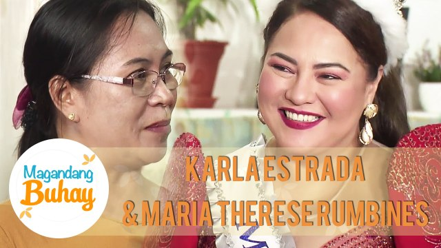 Maria Therese shares how Momshie Karla is as a classmate | Magandang Buhay