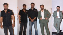 Tanhaji - The Unsung Warrior Trailer Launch: Ajay Devgn, Rohit Shetty, Saif Ali Khan Attend