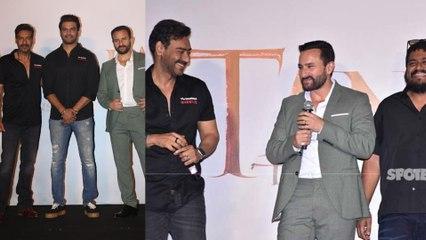 Tanhaji - The Unsung Warrior Trailer Launch: Ajay Devgn, Rohit Shetty, Saif Ali Khan Make A Powerful Entry