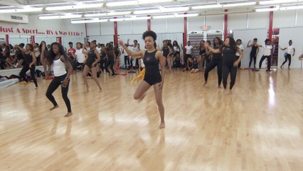 Bring It!: Bonus: Miss D and Marquell Make Cuts During the Hip Hop Routine Rehearsal
